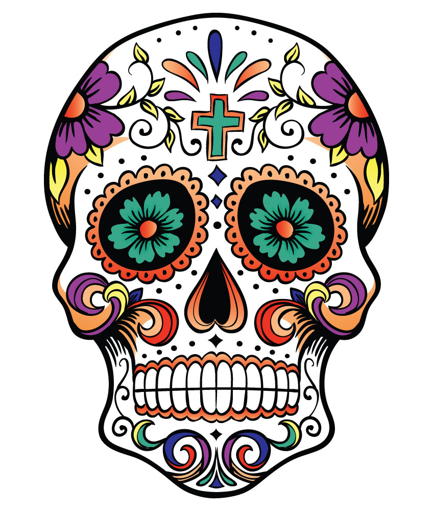 Mexican skull clipart svg freeuse Free Mexican Skull Cliparts, Download Free Clip Art, Free ... svg freeuse