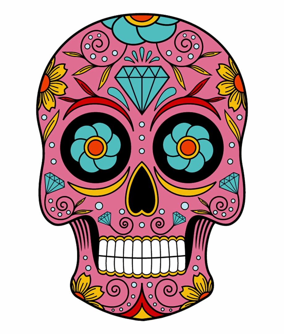 Mexican skull clipart svg free library Sugar Skull Vector - Sugar Skulls Drawings Free PNG Images ... svg free library