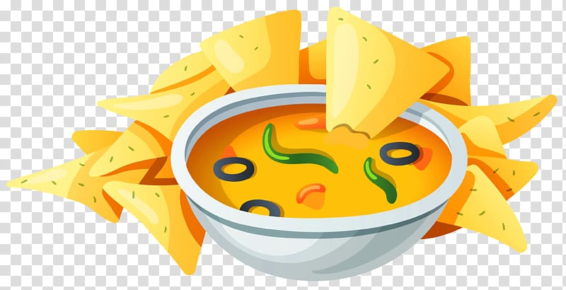 Mexican taco clipart transparent backround jpg transparent download Nachos with cheese dip illustration, Mexican cuisine Taco ... jpg transparent download