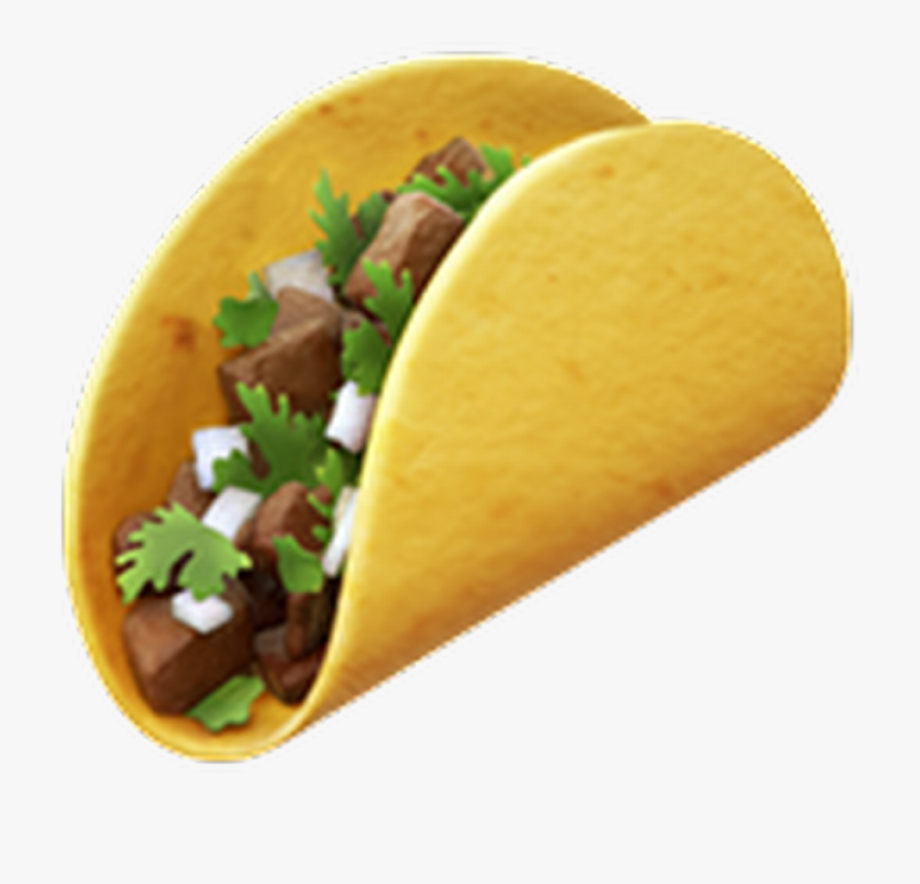 Mexican taco clipart transparent backround picture royalty free library Tacos Transparent Food Mexico - Transparent Taco Emoji Png ... picture royalty free library