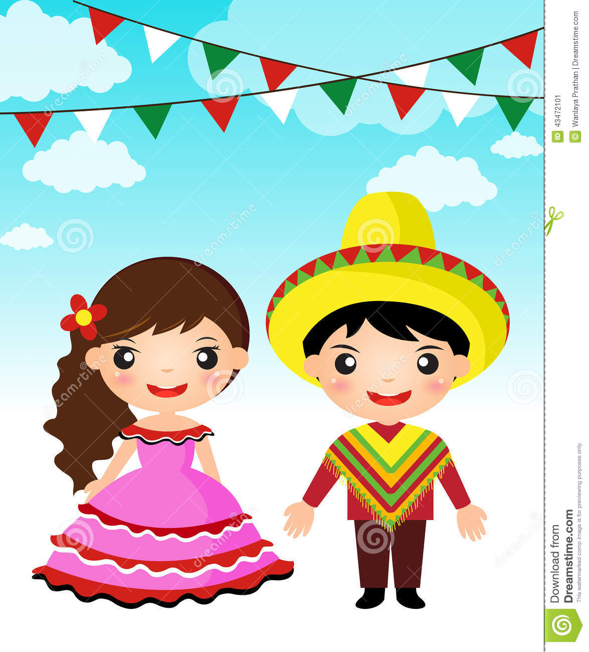 Mexican traditional dress clipart svg freeuse Mexican traditional dress clipart - ClipartFest svg freeuse