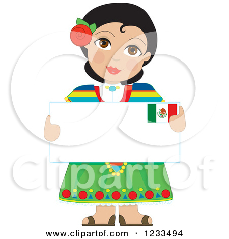 Mexican traditional dress clipart clip download Girls mexican dress clipart - ClipartFest clip download