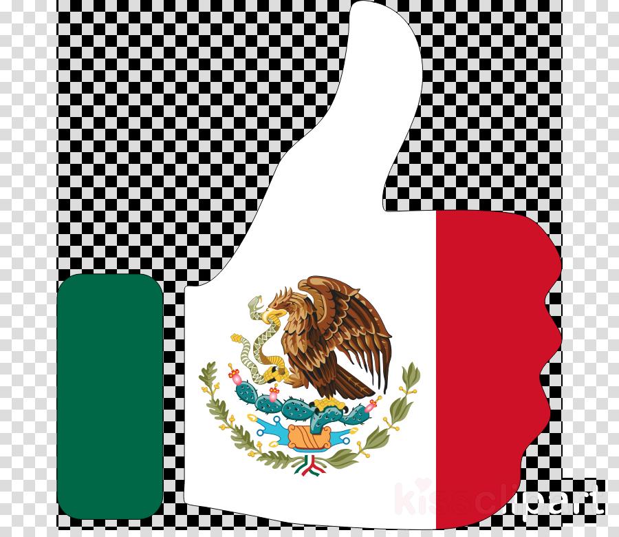 Mexico bandera clipart picture black and white Bird Clipart clipart - Mexico, Flag, Bird, transparent clip art picture black and white