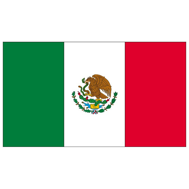 Mexico bandera clipart svg royalty free stock Mexico flag vector - Free vector image in AI and EPS format. svg royalty free stock