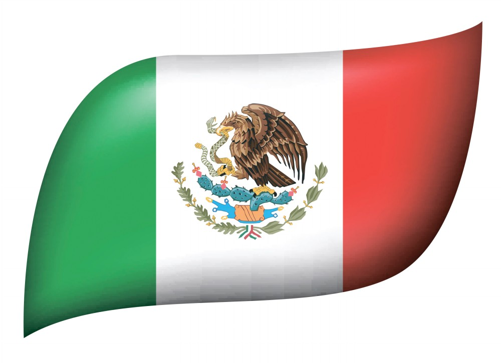 Mexico bandera clipart clip freeuse stock Mexico Flags ? La bandera Mexicana   Amazing Photos - Clip ... clip freeuse stock