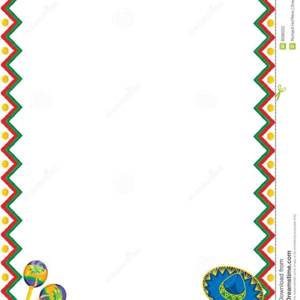 Mexico clipart borders jpg transparent mexican border clipart - Honey & Denim jpg transparent