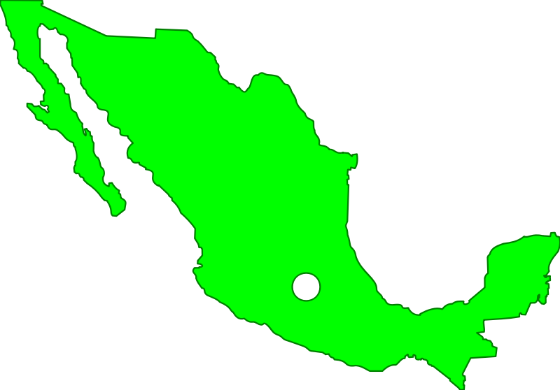 Mexico clipart map clip art free stock Clipart mexico map - Clipartable.com clip art free stock
