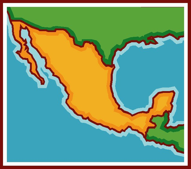 Mexico clipart map image transparent download Mexico map clipart 4 » Clipart Portal image transparent download