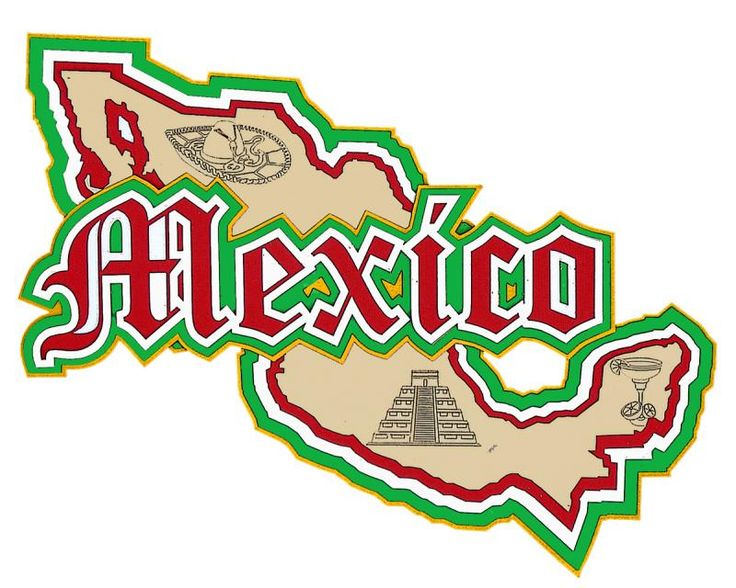 Mexico clipart map vector freeuse stock Mexico Picture | Free download best Mexico Picture on ... vector freeuse stock