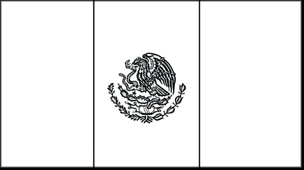 Mexico outline clipart banner library download Collection of Mexican flag clipart | Free download best ... banner library download