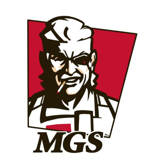 Mgs clipart clipart download MGS meets KFC   GREAT!   Metal gear, Metal gear solid, Gear art clipart download