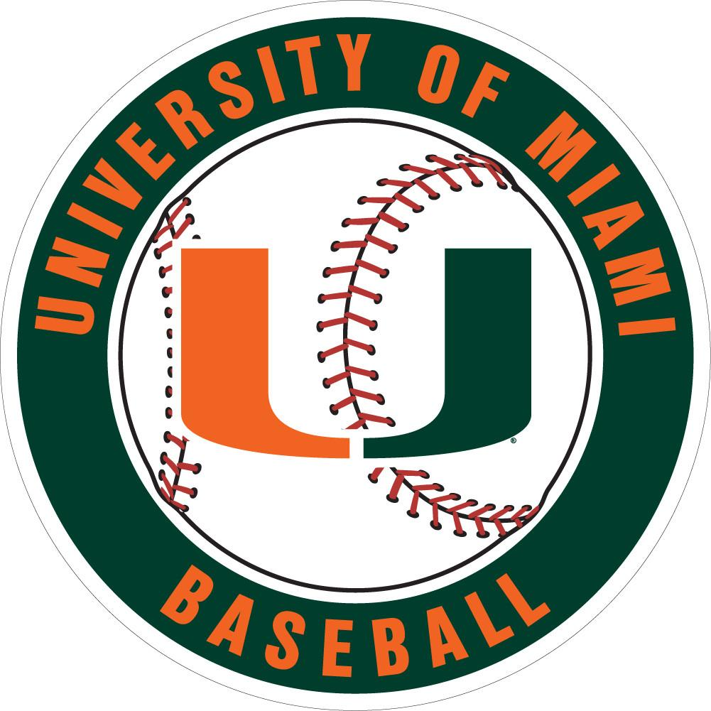 Miami hurricanes baseball clipart jpg royalty free stock Canes Baseball – CanesWear at Miami FanWear jpg royalty free stock