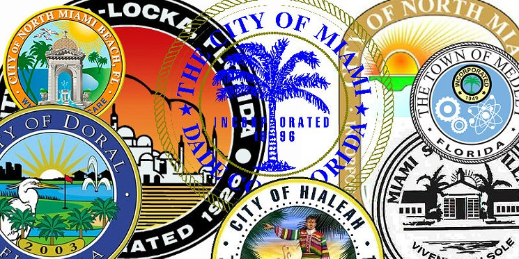 Miami new times clipart freeuse stock City Seals in Miami-Dade Are Mostly Terrible, but We Ranked ... freeuse stock