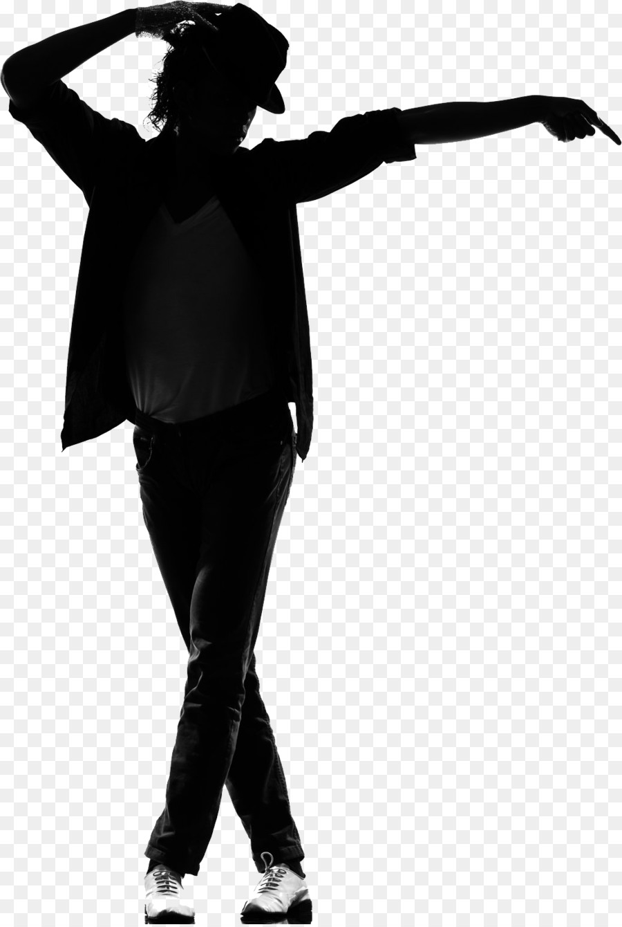 Michael Jackson Moonwalk clipart - Silhouette, Drawing ... banner stock