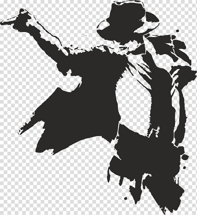 Michael jackson clipart vector transparent library Michael Jackson illustration, Moonwalk Silhouette , michael ... vector transparent library