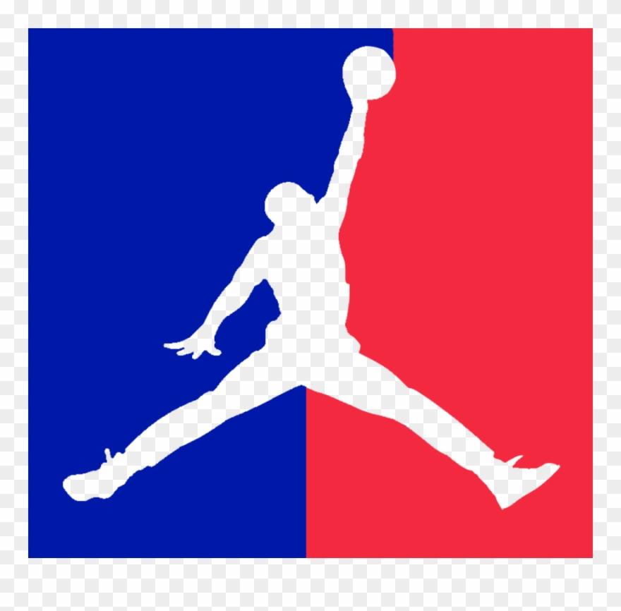 Michael jordan logo clipart graphic black and white library Michael Jordan Symbol Clipart Jumpman Air Jordan Logo ... graphic black and white library