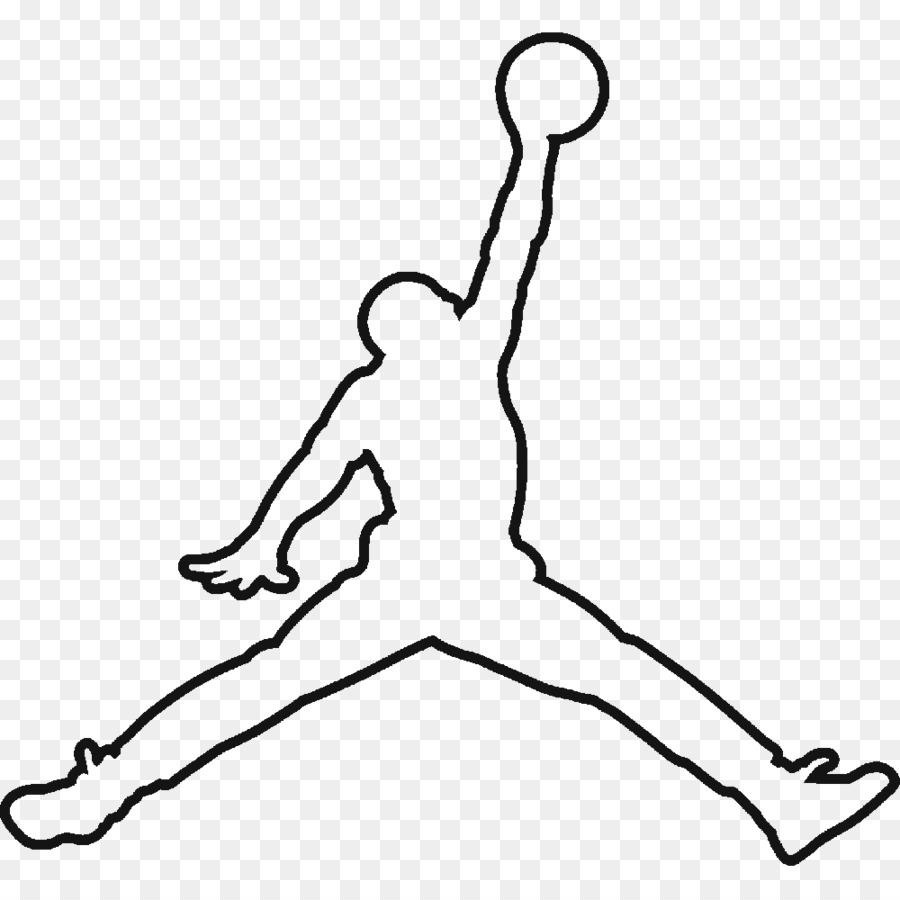 Michael jordan logo clipart picture library stock Nike Swoosh Silhouette png download - 1000*1000 - Free ... picture library stock
