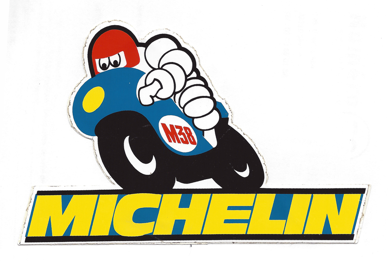 Michelin tire logo clipart image black and white Download Free png Michelin Tires Logo Vector PN - DLPNG.com image black and white