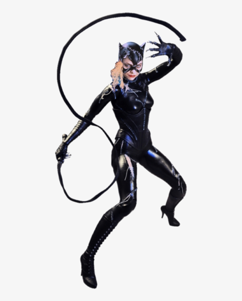 Catwoman Png Clipart - Michelle Pfeiffer Catwoman Action ... vector freeuse library