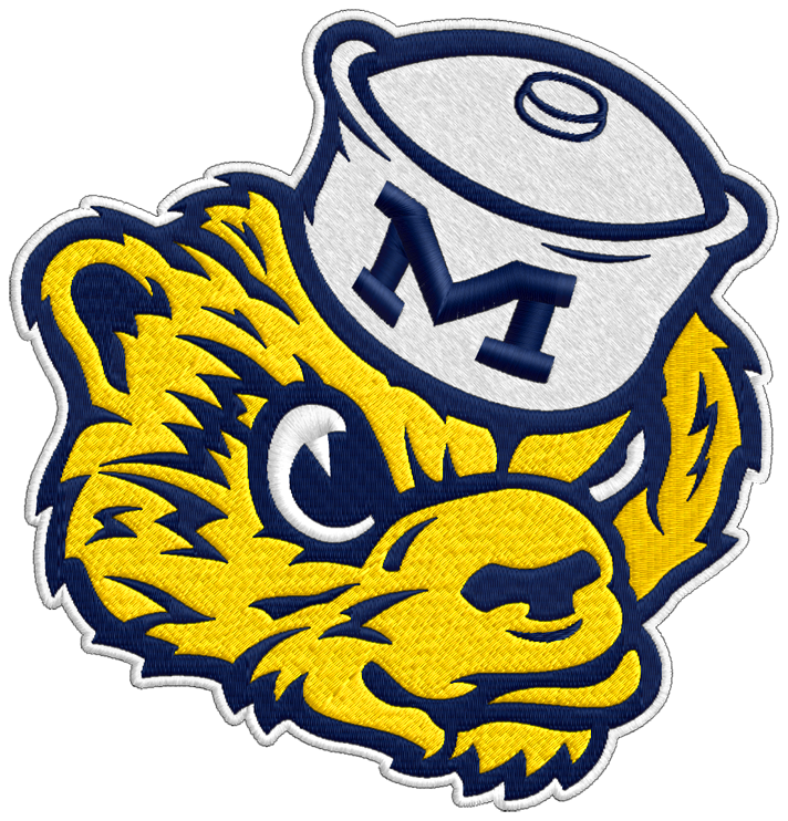 Michigan football player clipart free library Sports Logo Clipart at GetDrawings.com | Free for personal use ... free library