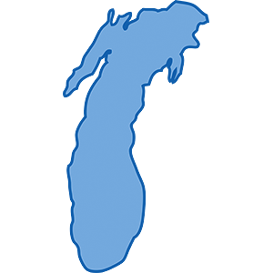 Michigan lake clipart clip library download Experimental Modernized Open Lakes Forecast of the Great Lakes clip library download