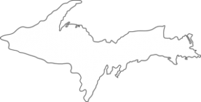 Michigan lower peninsula outline clipart png black and white download Michigan Upper Peninsula Clip Art - Cliparts Zone png black and white download