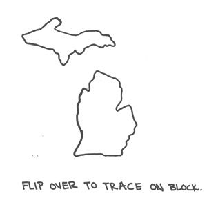 Michigan lower peninsula outline clipart svg royalty free Michigan lower peninsula outline clipart - ClipartFest svg royalty free