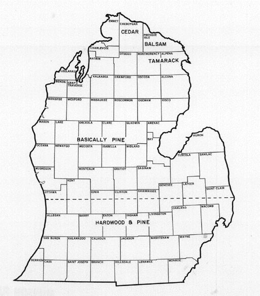 Michigan lower peninsula outline clipart graphic free 17 Best images about Maps on Pinterest | Vintage maps, World maps ... graphic free