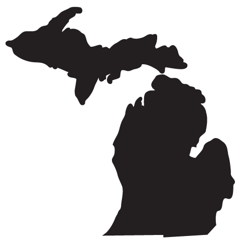 Michigan turtles silhouette clipart picture transparent library Michigan State University U.S. state Flag of Michigan Clip ... picture transparent library