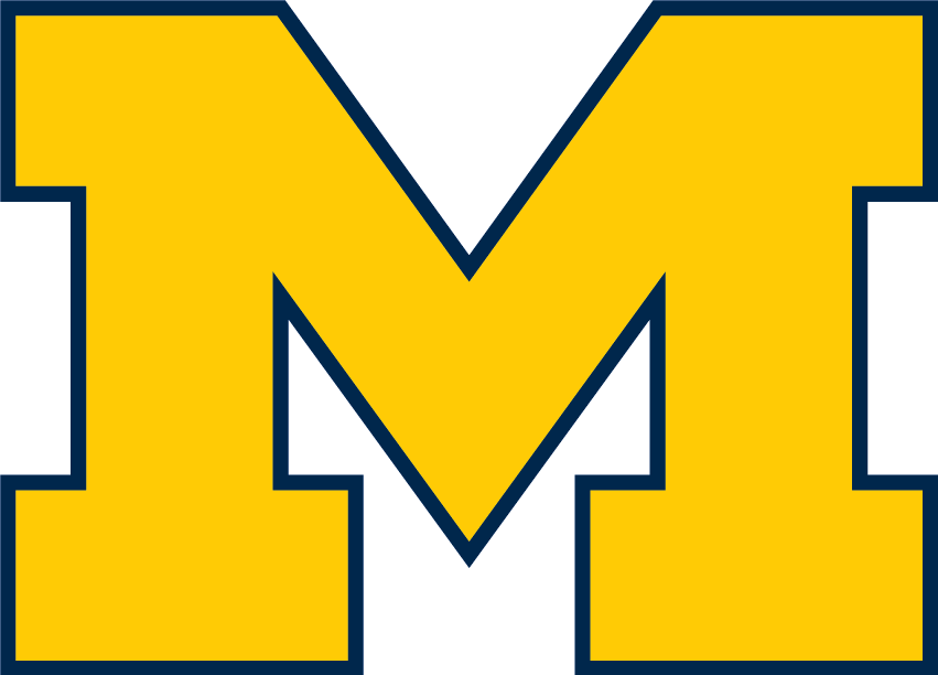 File:Michigan Wolverines Block M.png - Wikimedia Commons clipart transparent stock