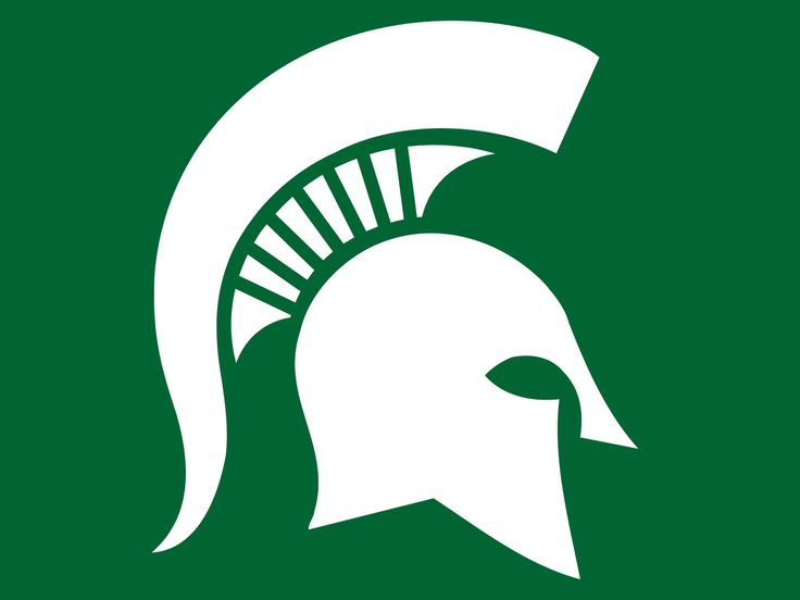 Michigan state logo clip art vector royalty free download Michigan State University Clipart vector royalty free download