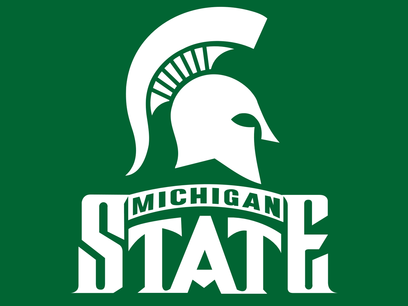 Michigan state logo clip art svg freeuse library Michigan State Football Clipart - Clipart Kid svg freeuse library