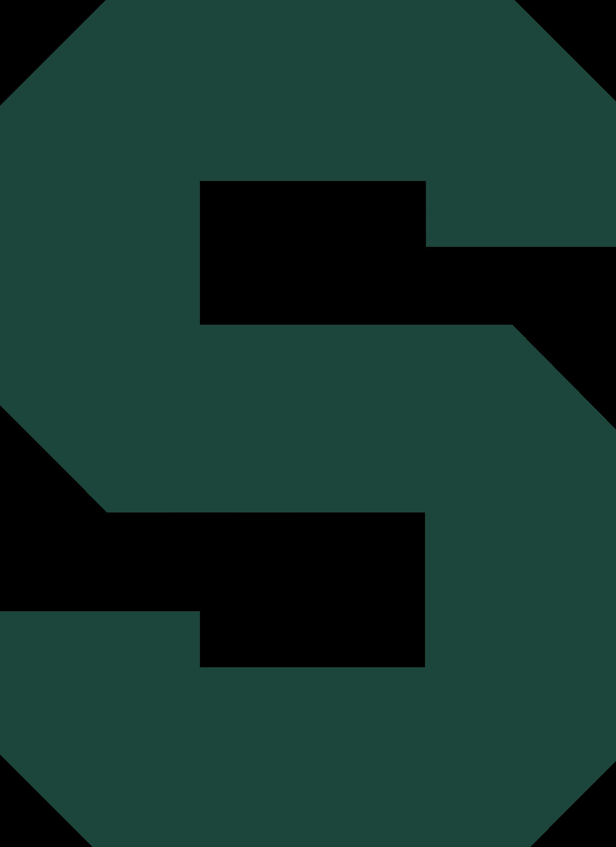 Michigan state logo clip art vector black and white stock Michigan State Spartan Logo Clip Art - ClipArt Best vector black and white stock
