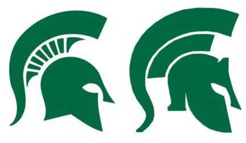 Michigan state university logo clip art png library download Msu sparty clipart - ClipartFest png library download