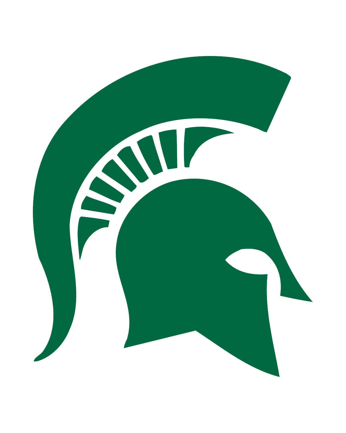 Michigan state university logo clipart picture freeuse Michigan State Football Clipart - Clipart Kid picture freeuse