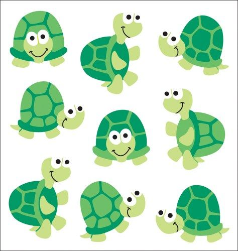Michigan turtles silhouette clipart svg black and white stock turtle+themed+classroom | Sandylion Classpak Stickers ... svg black and white stock