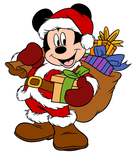 Mickey and friends christmas clipart svg royalty free Mickey and Friends Christmas Clip Art 4   Disney Clip Art Galore svg royalty free