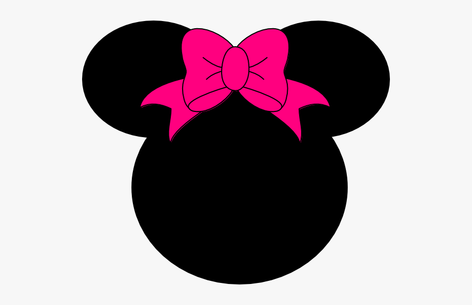 Mickey and minnie ears clipart png free download Minnie Mouse Bow No Dots Clip Art At Clker Com Vector ... png free download