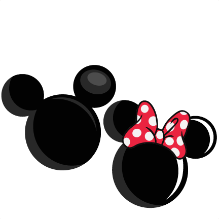 Mickey and minnie ears clipart clip art stock Minnie Mouse Silhouette Clipart   Free download best Minnie ... clip art stock