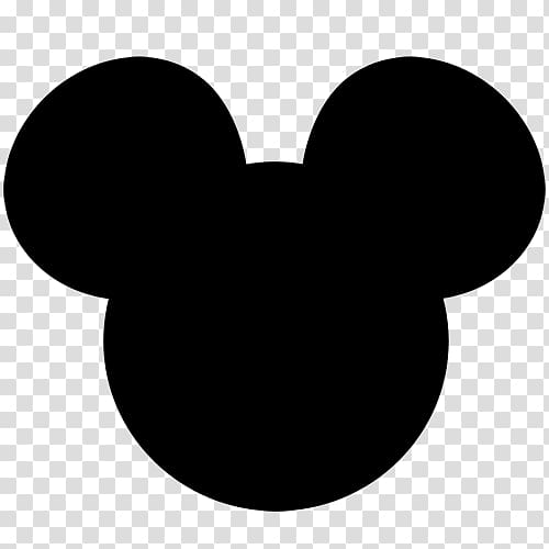 Mickey and minnie ears clipart clipart free Mickey Mouse Minnie Mouse Silhouette , ears transparent ... clipart free