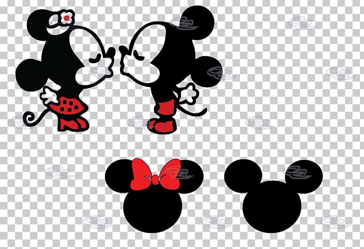 Mickey and minnie mouse apple trees clipart banner library library Minnie Mouse Mickey Mouse Decal Sticker The Walt Disney ... banner library library