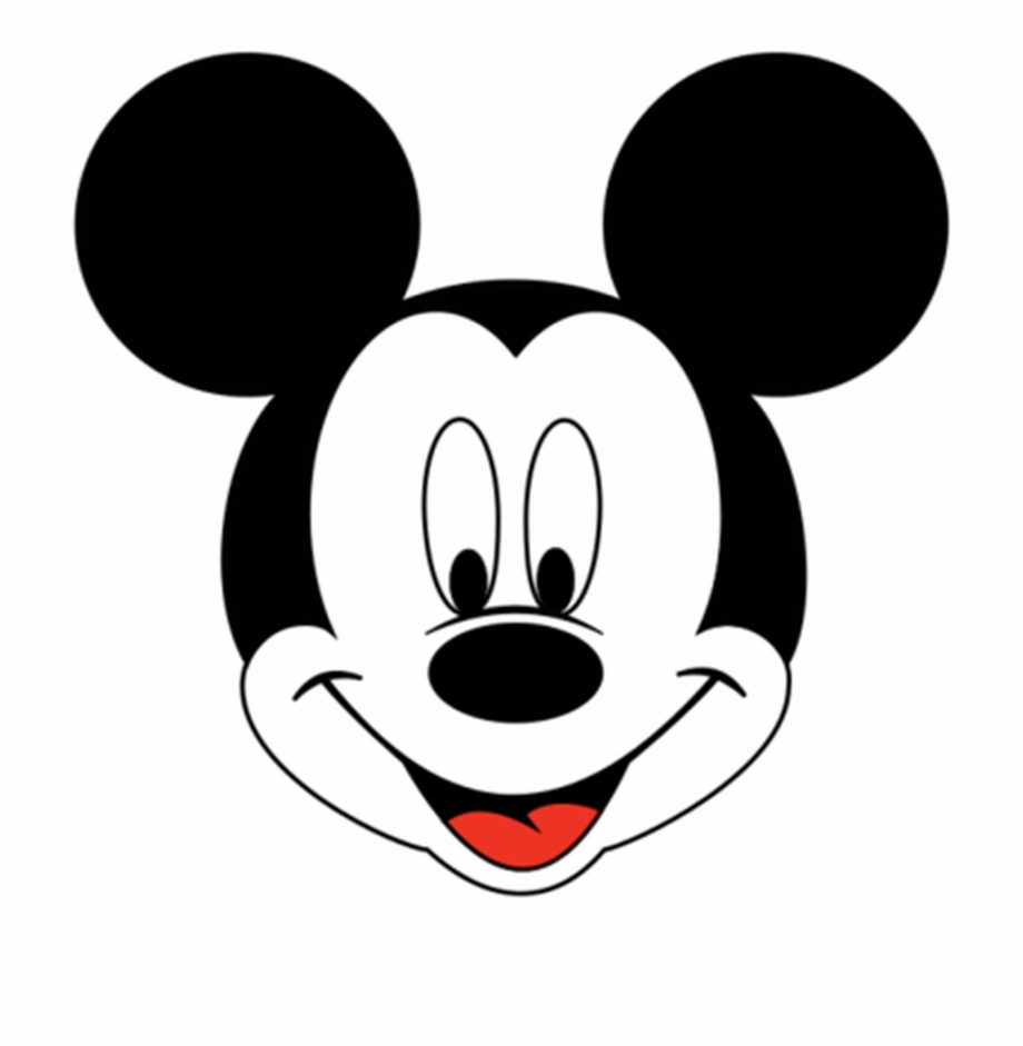 Mickey and minnie mouse clipart just face png transparent library Mickey Mouse Head Outline Png - Clipart Mickey Mouse Face ... png transparent library