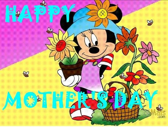 Mickey and minnie mouse mother s day clipart picture library Mother\'s Day greetings | Oh the Holidays... | Laminas ... picture library