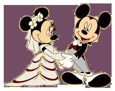 Mickey and minnie wedding clipart banner library stock Groom & Bride Mickey & Minnie | Mozaik | Esküvői ötletek banner library stock