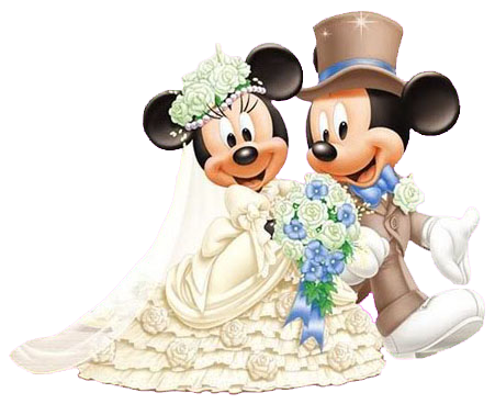 Mickey and minnie wedding clipart free library Mickey and Minnie Wedding | back to mickey s clipart mickey ... free library