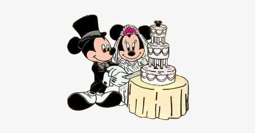 Mickey and minnie wedding clipart banner library library Mickey Mouse Silhouette Clip - Mickey And Minnie Wedding ... banner library library
