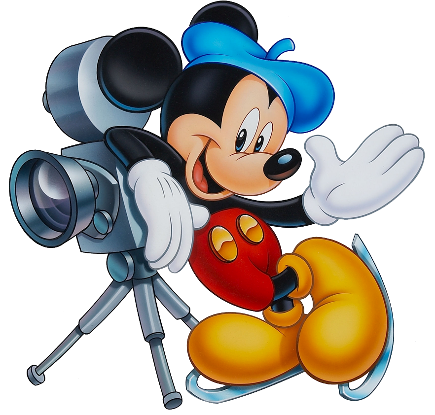 Mickey Mouse Occupations Clipart | Mickey and Minnie | Pinterest ... clip black and white library