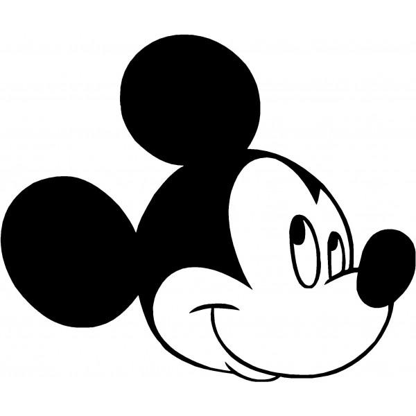 Mickey mouse clipart black and white jpg stock Mickey Mouse Black And White Clipart | Free download best ... jpg stock