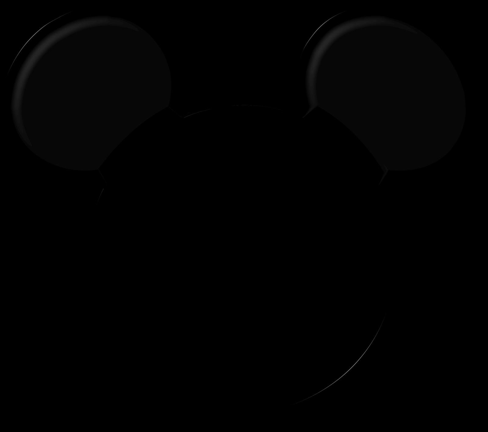 Mickey halloween clipart graphic freeuse download Ghostface Casper Halloween Clip art - Template For Mickey Mouse Ears ... graphic freeuse download