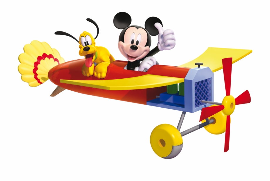 Mickey mouse airplane clipart jpg freeuse stock Plane Svg Mickey - Mickey Mouse Plane Png Free PNG Images ... jpg freeuse stock
